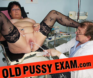 mature woman at pervy gyn doctor - watch here!